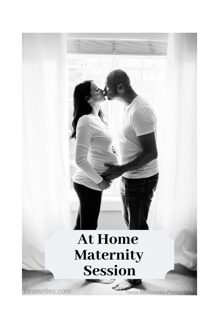 at home maternity session