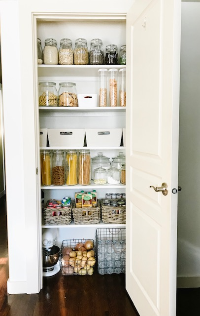 Small Pantry Organization | Pantry Makeover | Pantry Goals