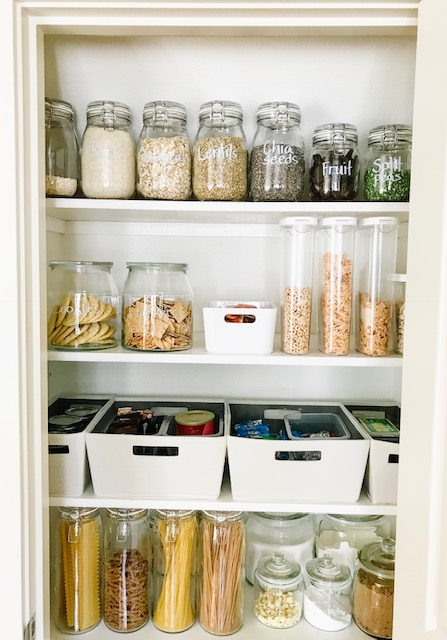 Small Pantry Makeover | Pantry Organization | Pantry Goals