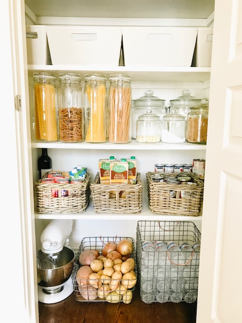 Small Pantry Organization | Pantry Organization | Pantry Goals